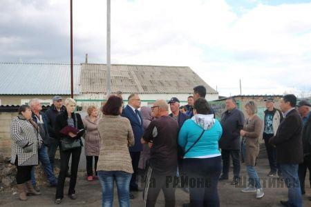 Аким города встретился с жителями частного сектора
