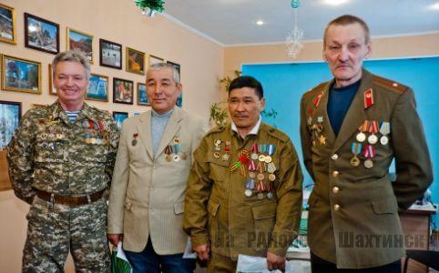 В АО «АрселорМиттал» чествовали ветеранов-афганцев