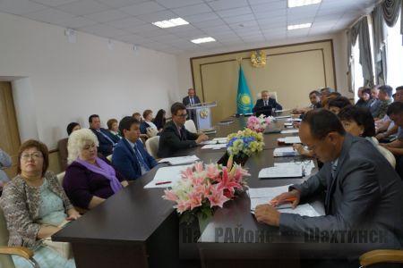 Аппаратное совещание под председательством акима города