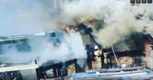 02 мая 2020 года в посёлке Долинка произошло 2 пожара.
