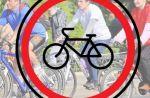По тротуарам запрещено ездить велосипедистам