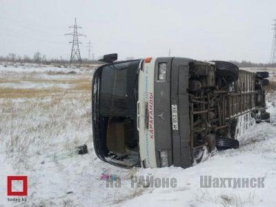 Столкнулись два пассажирских автобуса 121 маршрута