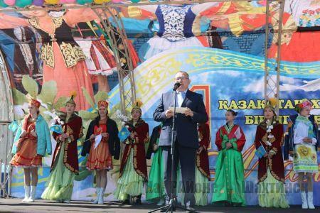 В Шахтинске отметили День единства народа Казахстана