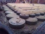 Как сделать фундамент из покрышек?