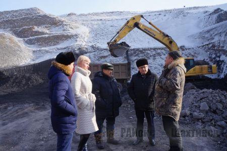 Добыча угля открытым способом