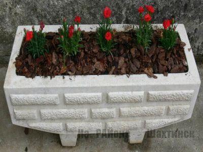 Вазоны из бетона своими руками