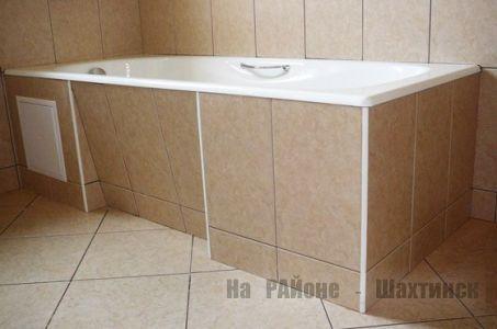 Изготовление и установка самостоятельно экранов и каркасов для ванной