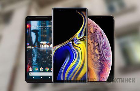 Самые успешные модели смартфонов 2018 года