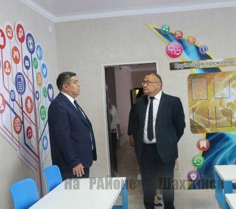 Аким проверил готовность школьных учреждений к новому учебному году