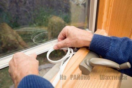 Заделываем щели в окнах