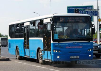 Возобновляется движение автобусов между Карагандой и городами-спутниками в выходные дни