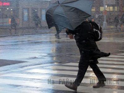 В семи областях объявлено штормовое предупреждение