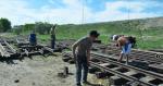 В Караганде разобрали детскую железную дорогу