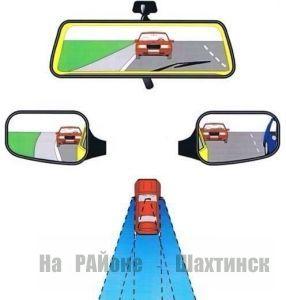 Как отрегулировать зеркала на автомобиле?