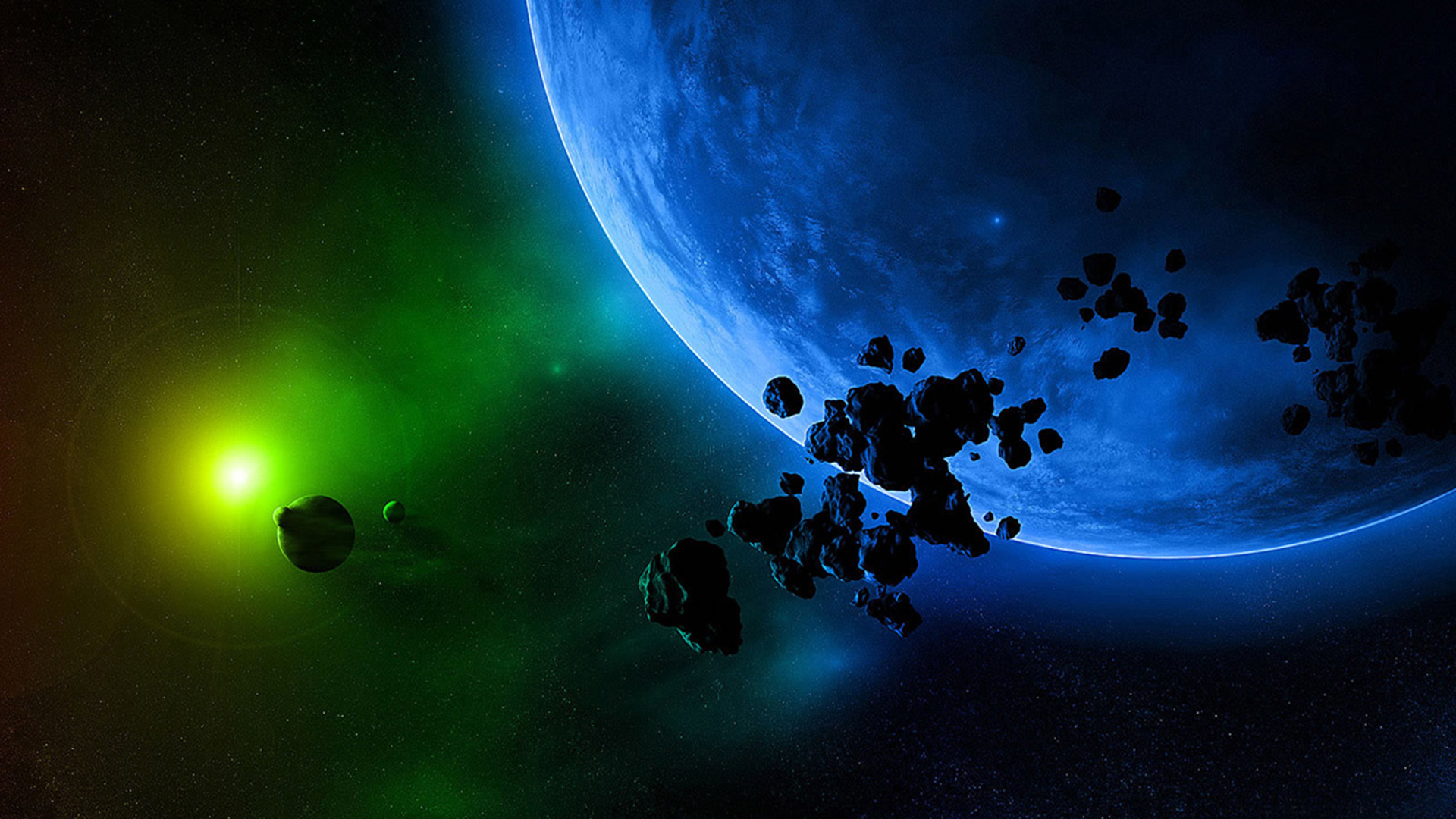 planets and space - HD1920×1080